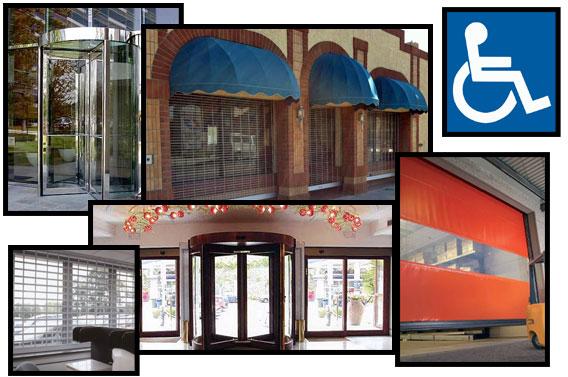 Bon Storefront Doors, Revolving Doors, Shutters