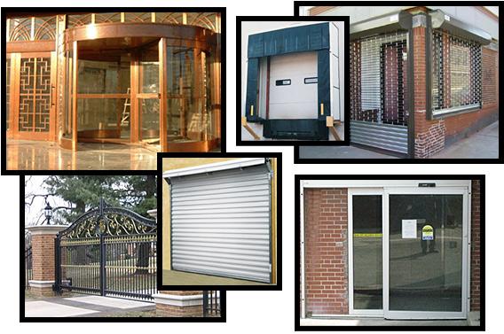 Automatic Doors, Revolving Doors, Overhead Doors, Entry Doors